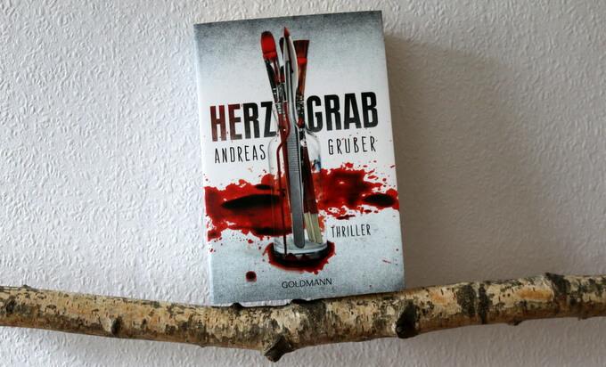 Herzgrab, Andreas Gruber, buchkritik, crime, goldmann