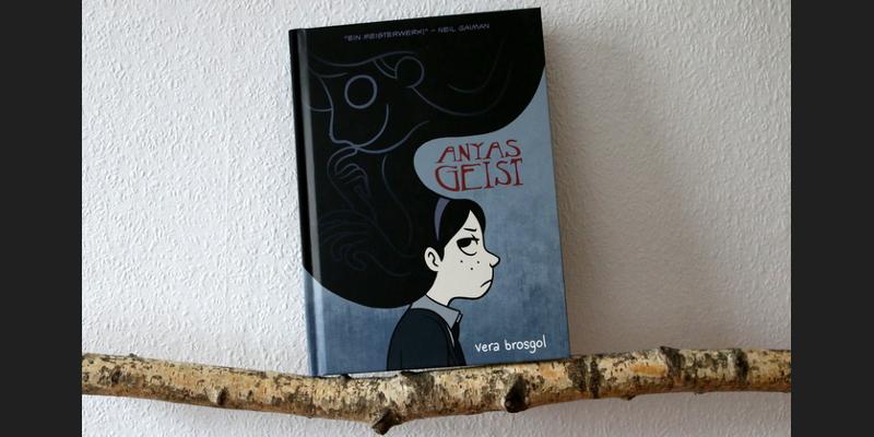 " Comic  ""Anyas Geist"""