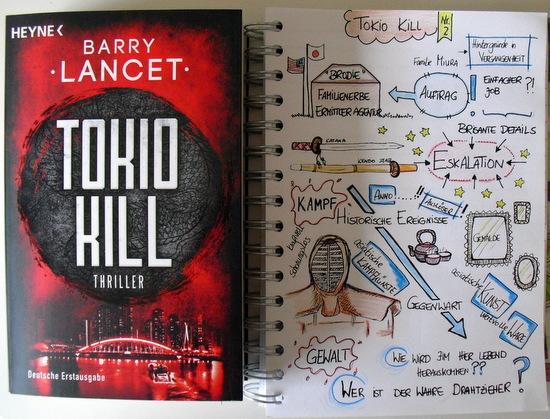 Tokio Kill Barry Lancet Sketchnote