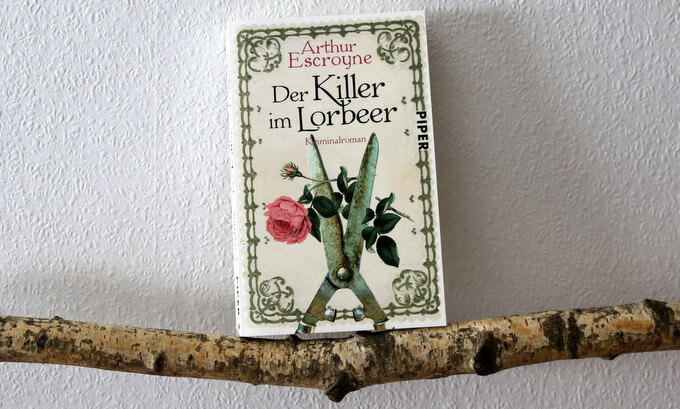 killer im lorbeer, buchkritik, crime, escroyne