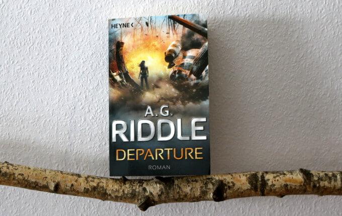 departure, a.g. riddle, buchkritik