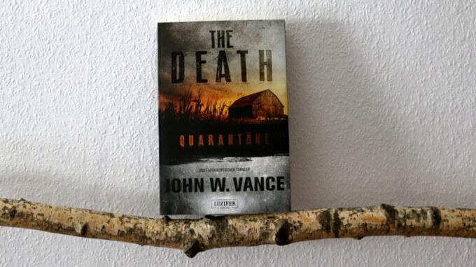the death, buchkritik, crime, vance