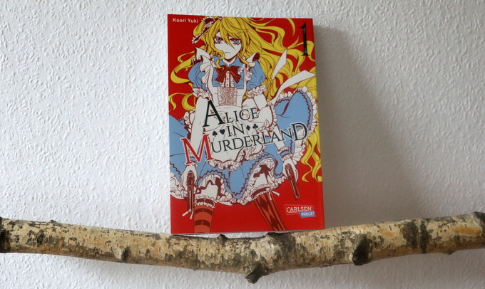 Kaori Yuki, alice in murderland, manga