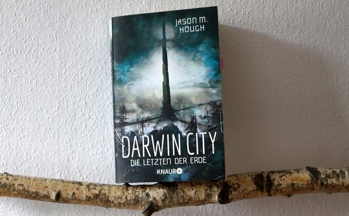 darwin city die letzten der erde, Darwin City, buchkritik, crime, scifi