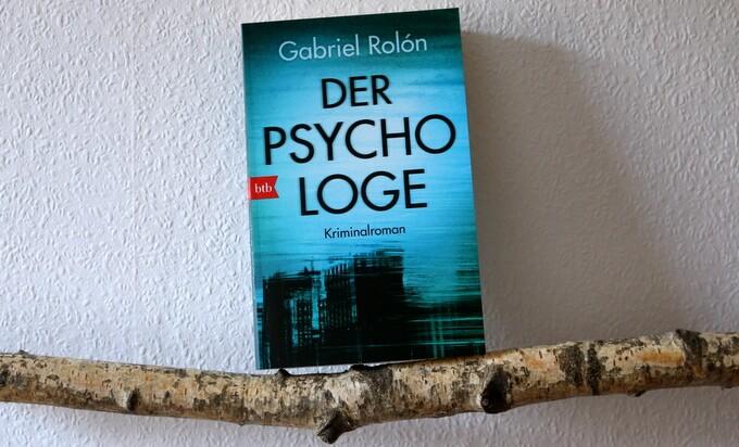 der psychologe, Gabriel Rolon, Buchcover, buchkritik