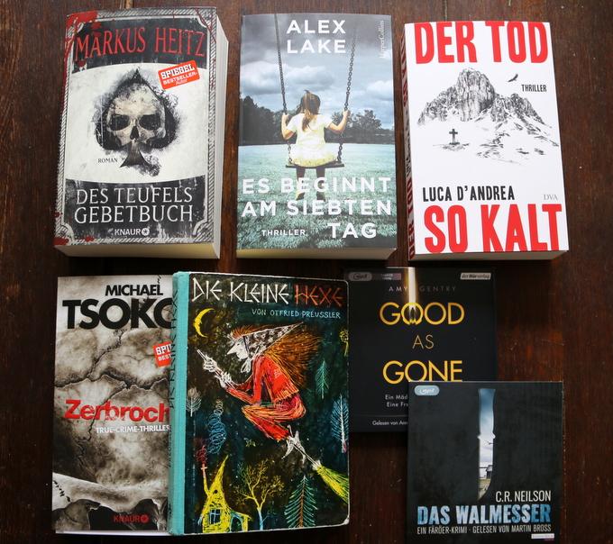 Bücher Rückblick März