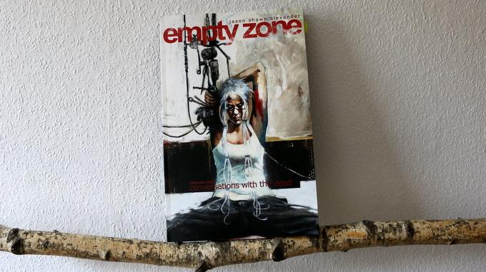empty zone,  Jason Shawn Alexander, comic