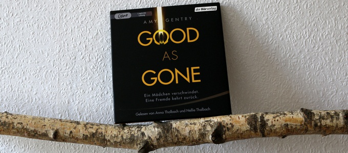 good as gone, Cover
