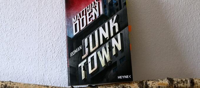 junktown, matthias oden, crime, scifi, buchkritik, cover