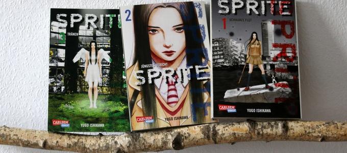 sprite,  Yugo Ishikawa, comic, manga
