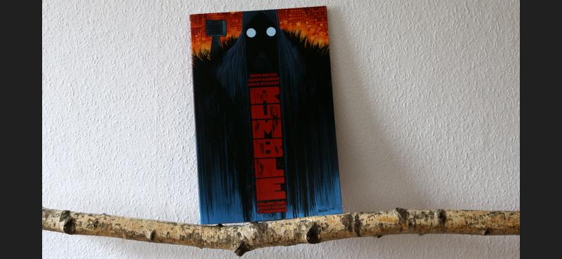 rumble vol, Arcudi/Harren, comic