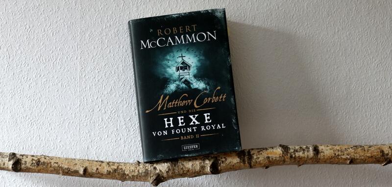 """ Crime  """"Matthew Corbett und die Hexe von Fount Royal"""" Bd.2"""
