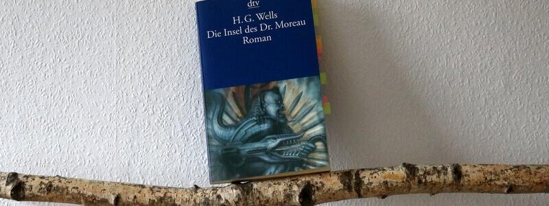 die insel des dr moreau, h.g. wells, scifi, sfvongestern, dtv, buchkritik