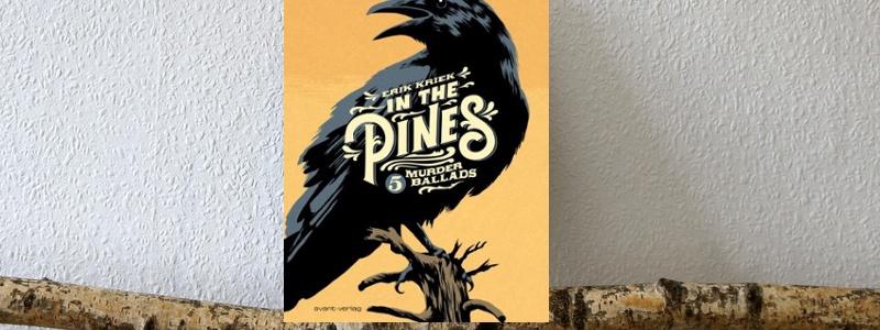 in the pines header,  Eric Kriek, comic