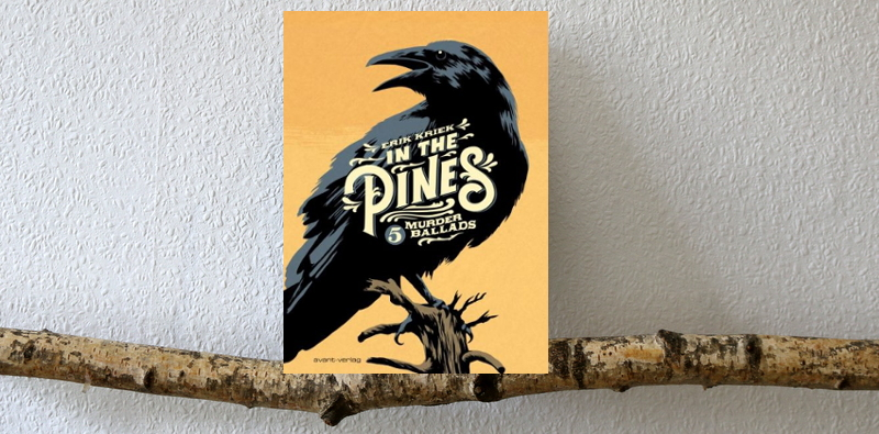 in the pines header,  Eric Kriek, comic