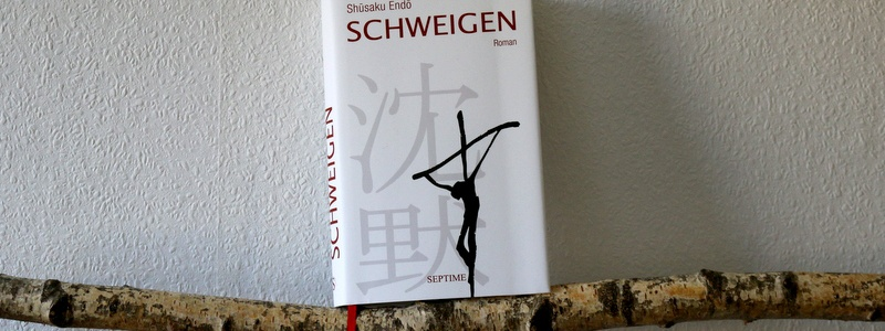 schweigen, cover, septime verlag, roman, religion,buchkritik, japan special