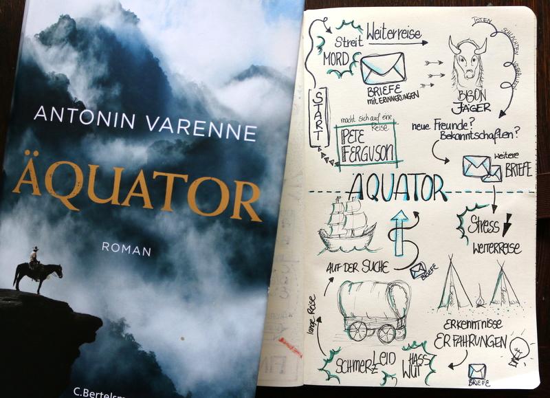 äquator, roman