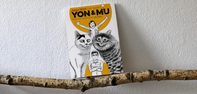 yon & Mu, manga, junji ito