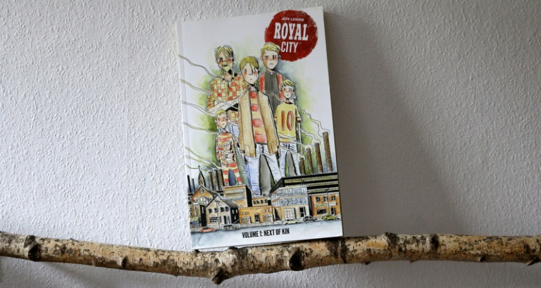 " Comic  ""Royal City"""