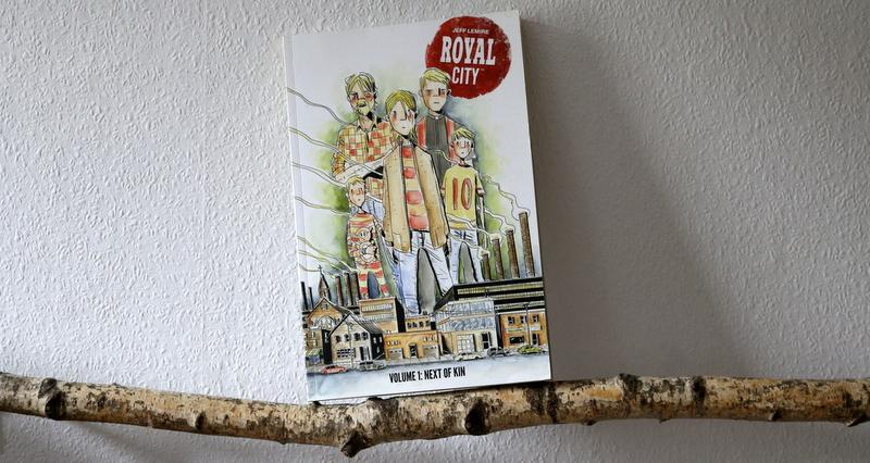 royal city, jeff lemire, comic