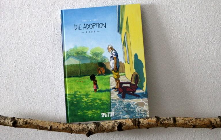 """ Comic  """"Die Adoption – Qinaya"""""""
