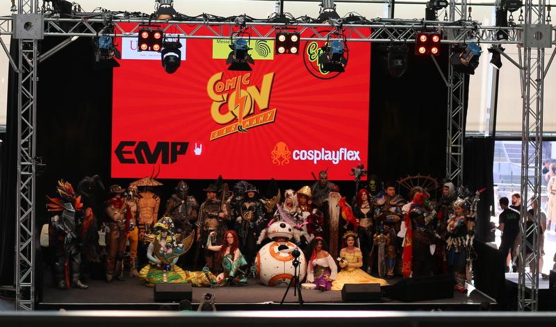 "|Event| ""Comic Con Germany in Stuttgart 2018"""