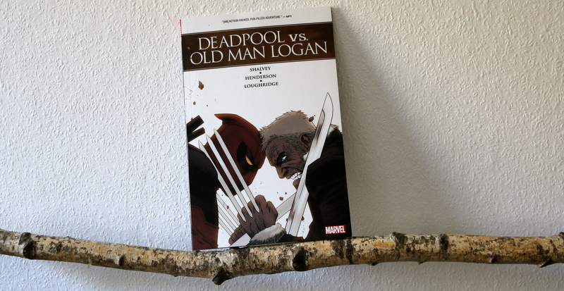 deadpool vs old man logan, comic, marvel, kritik