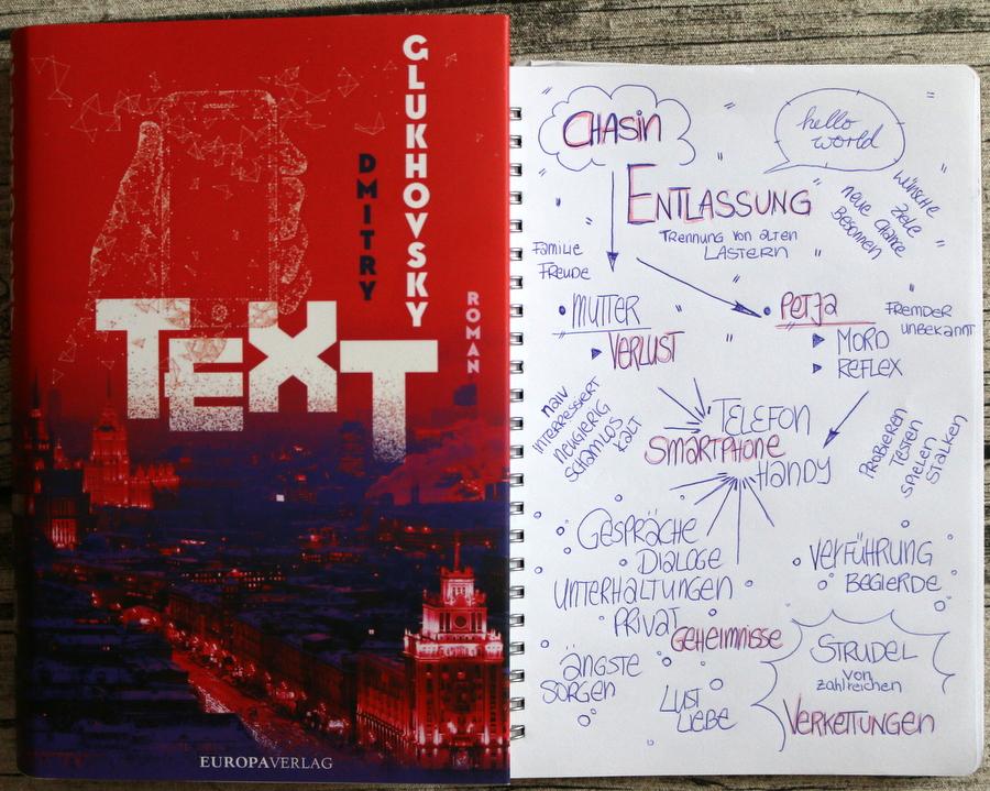 text, dmitry glukhovsky, buchkritik, sketchnote