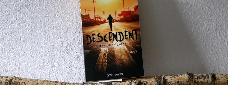 descendent, der überläufer, buchkritik, crime, mystery, goldmann