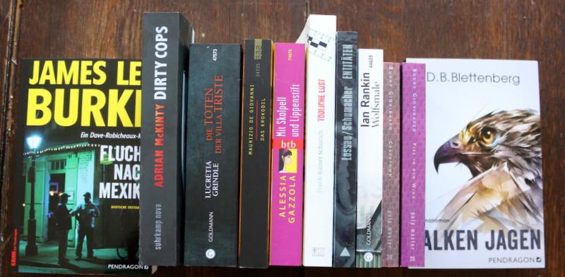 newin, september, Bücher, crime