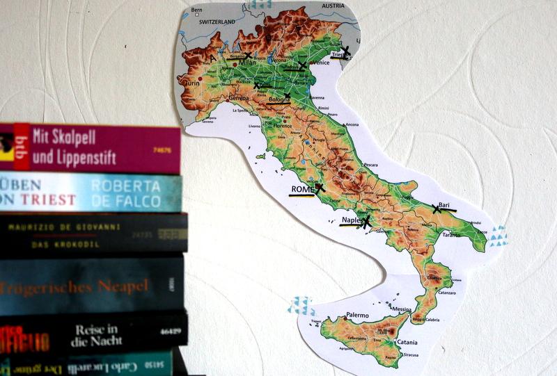 italien, reise, länderkarte, iltalien november