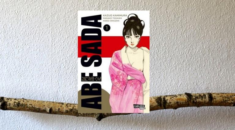 """ Manga  """"Abe Sada"""""""