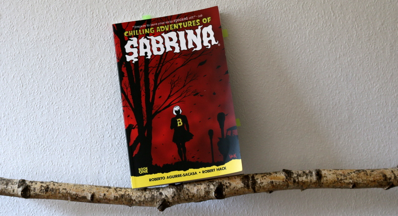 chilling adventures of sabrina, comic