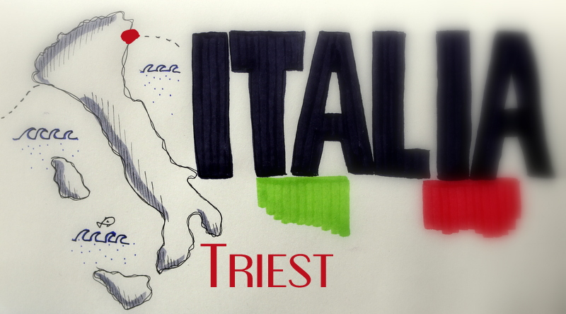 triest, buchkritik, italien