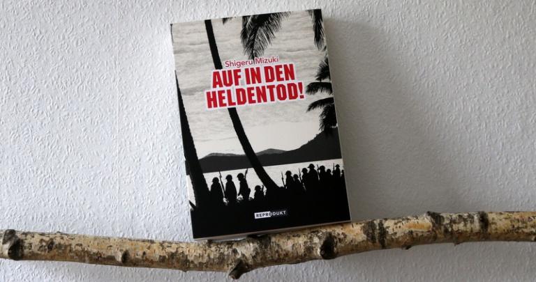""" Comic  """"Auf in den Heldentod"""""""