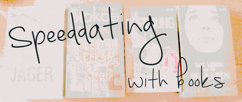 """ Aktion  """"Speeddating with Books"""" 07-19"""
