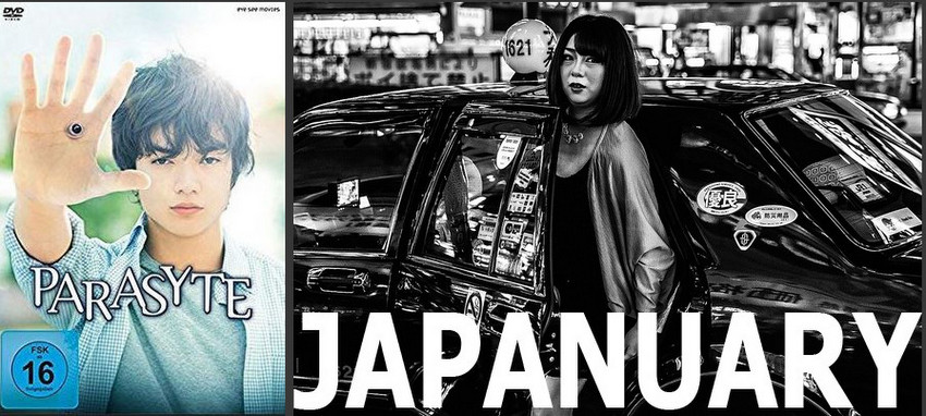 " Japanuary  ""Parasyte – Part 1"""
