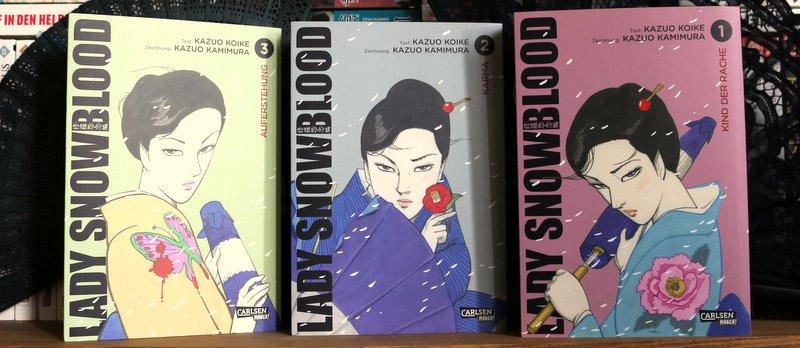 " Manga  ""Lady Snowblood"""
