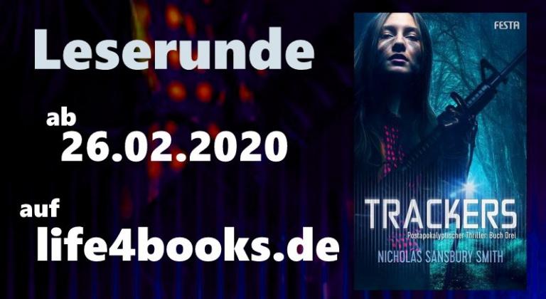 """ Leserunde  """"Trackers – Buch Drei"""""""
