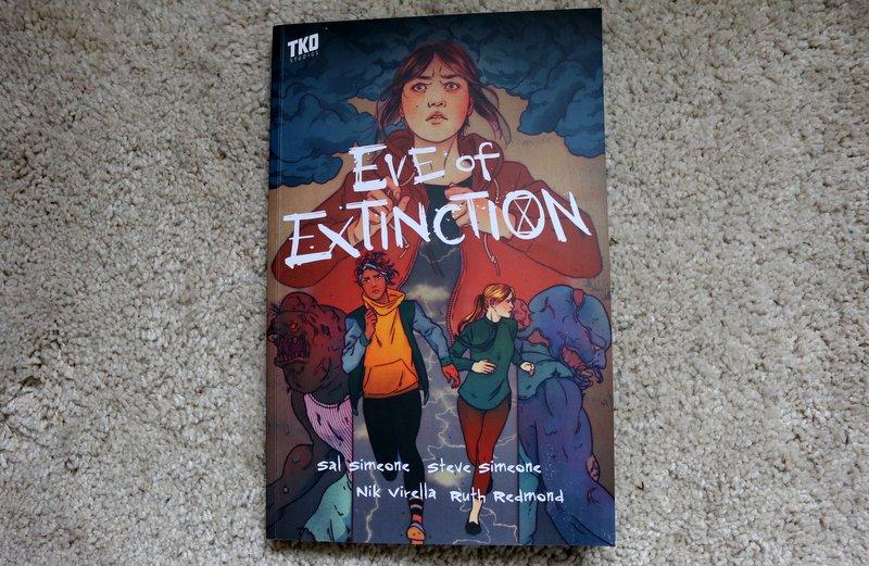 " Comic  ""Eve of Extinction"""