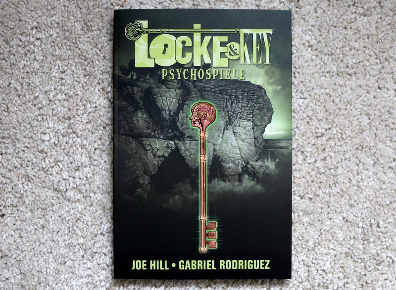 "|Comic| ""Locke & Key – Psychospiele"""
