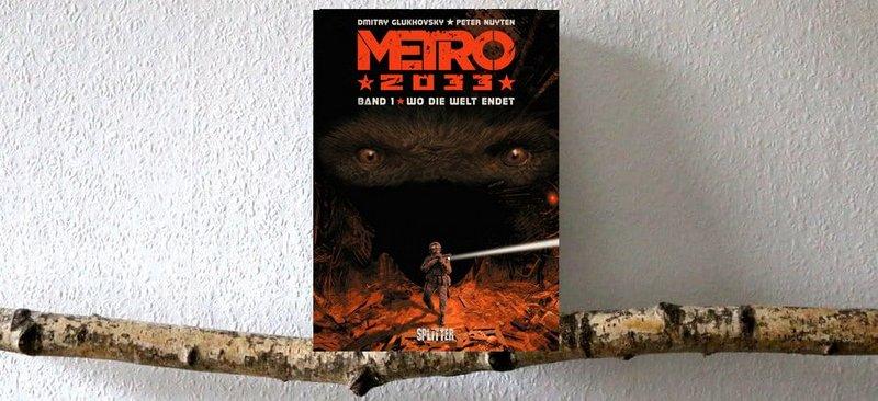 " Comic  ""Metro 2033"""