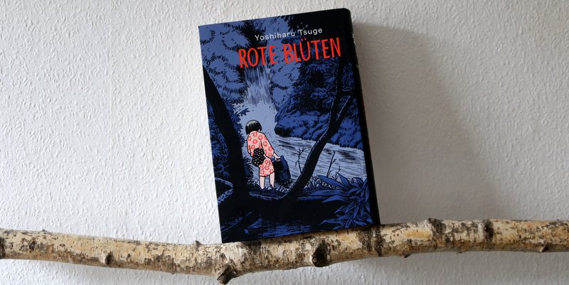 " Comic  ""Rote Blüten"""