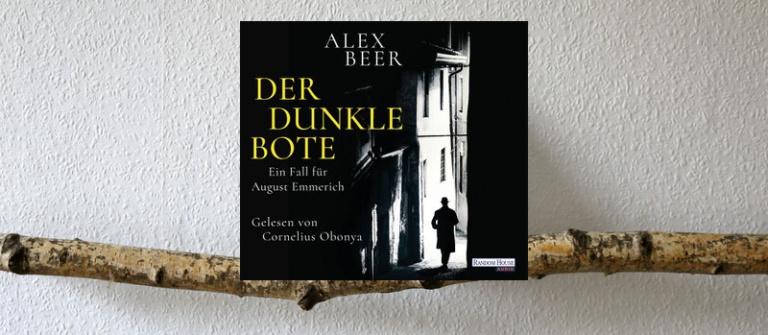 " Hörbuch  ""Der dunkle Bote"""