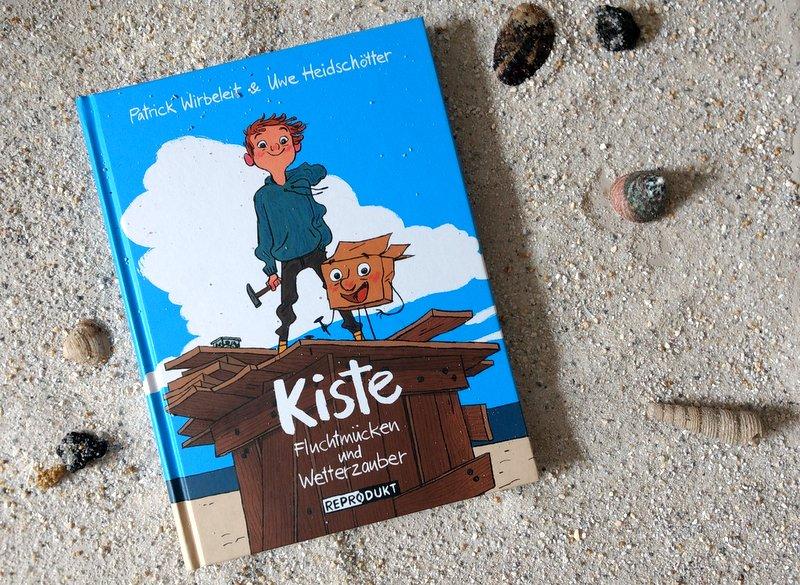 """ Comic  """"Kiste – Fluchtmücken und Wetterzauber"""""""