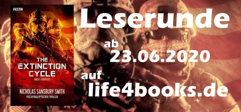""" Leserunde  The Extinction Cycle – Verpestet"""""""