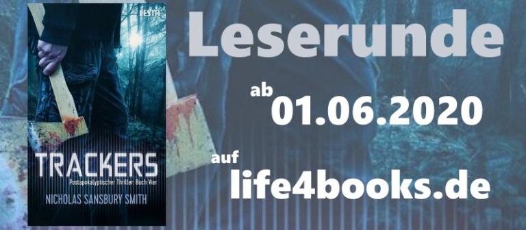 "|Leserunde| ""Trackers – Buch Vier"""