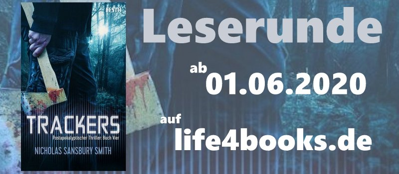 "|Leserunde| ""Trackers – Buch Vier"""