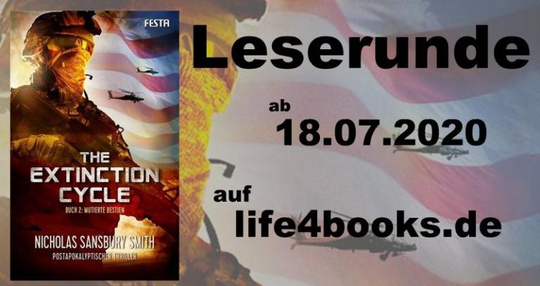 "|Leserunde| ""The Extinction Cycle – Mutierte Bestien"""