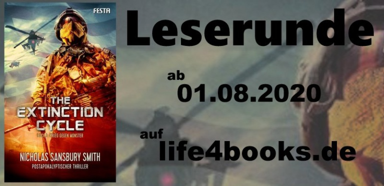 "|Leserunde| ""The Extinction Cycle – Krieg gegen Monster"""